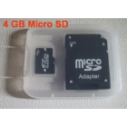 Wholesale Free Shipping 10pcs/lot Brand New 4GB Micro SD 4G TransFlash  4GB Memory Card 4GB