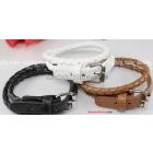 Free Shipping factory wholesale brand new Jewelry Skin buckle bracelet 40pcs