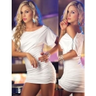 Brand Evening party Dress prom party dress/Design Women's Dress Career Dresses sexy dress #2333 white