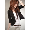Fashionable Elegant Style Suit  Coat-Black      K09071203