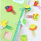 1020pcs/lot Wholesale Hotsale 3D Bookmarks Cartoon Bookmarks Fast delivery free shipping