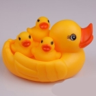 Free shipping Wholesale Rubber ducks PVC duck Bath Toys Gifts 4pcs/Set 20sets/lot Hot sale Funny,safe Fast delivery
