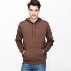 VANCL Paolo Plain Pullover Hoodie (Men) Medium Coffee SKU:180519