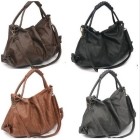 Korean Style PU Leather Handbags Shoulder tote Bags for women Girl's lady bag drop shipping Free shipping W1283