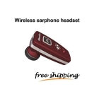 free shipping  2  Wireless Earphone Headset-Red A398