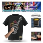 Wholesale 2011 hottest and coolest Playable Electronic Rock Guitar T-Shirts with Amplifier Come out now!+100pcs/lot+Hot Sale!