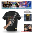 Wholesale 2011 hottest and coolest Playable Electronic Rock Guitar T-Shirts with Amplifier Come out now!+50pcs/lot+Hot Sale!
