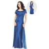 A-Line/ Strapless Chapel  Satin Bridesmaid Dress for brides 2012 Style(WDA0036)