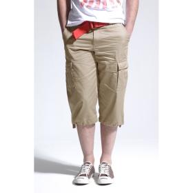 mens khaki capri pants - Pi Pants