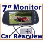 "Dropshipping 7"" TFT LCD Color Screen Car Monitor rearview camera VCR,free shipping"