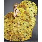 Fashion Hot Trendy European Dress, Folka Dot Stars Chiffon Sleeveless Maxi Dresses, 2012 Dress, Free Shipping SJ1213LS