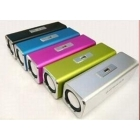 free shipping in new  box Music  Mini Portable speaker FM for computer pc notebook mp3 mp4 cd mobile cell phone
