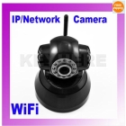 Surveillance Wireless WiFi IP Network Camera Audio Monitor Security Black