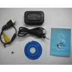 Real Waterproof Spy Watch Camera Night Vision 1280x720 Waterproof Spy digital Watch Camera 4GB Free Shipping