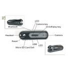 Newest Bluetooth Headset Video Camera Mini DV Bluetooth Headset with Video Recorder Camera Free Shipping