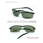 free shipping retail man sunglasses, lens,minno,glasses,fashion sunglasses,atrovirens/green glasses and grey frame