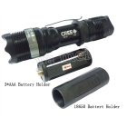 freeshipping 10pcs/lot BRAND NEW CREE LED Flashlight Q5 Zoomable Rechargeable