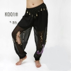 free shipping 12pcs/lot,belly dance Tribe trousers /belly dance Tribe trousers with gold /belly dance Tribe pants