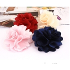 FASHION flower hair clips/hair clip flower/flowers ponytail hair clip brooch pin / gifts,120pcs/lot,free shipping