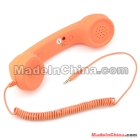 Unique Retro Telephone Style Headset <7f310460d57a17c819816dc920dbb5>Phone - Rubber paint orange