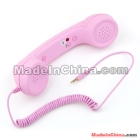 Unique Retro Telephone Style Headset <7f310460d57a17c819816dc920dbb5>Phone - Rubber paint pink