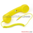 Unique Retro Telephone Style Headset <7f310460d57a17c819816dc920dbb5>Phone - Rubber paint yellow