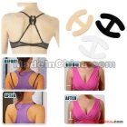 100 pcs / lot Bra Cleavage Clips Breast Adjust Bra Straps Control Clip