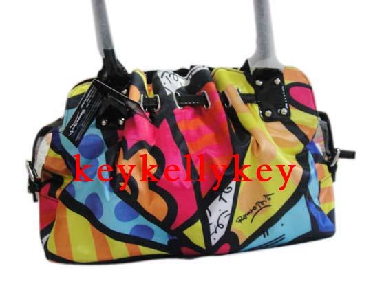 Romero Britto Handbags Tote Bag Fashion La S