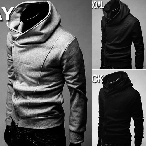 Buy Hot FREESHIP New Mens Stylish Slim Zipper hoodies jackets ...