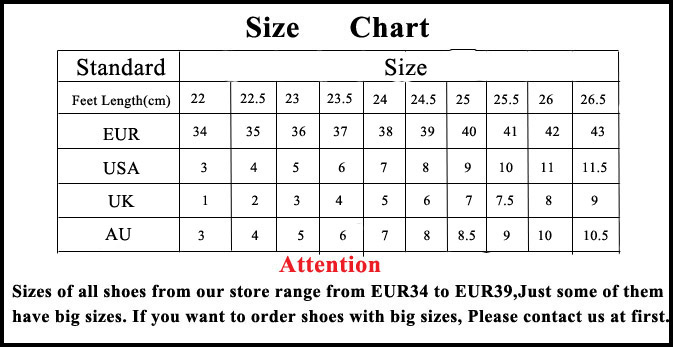 Shoe Size Conversion Charts to convert from Inch or Centimeters to US-size, UK and International shoe sizes such as European Sizes as French, Italian and German sizes .