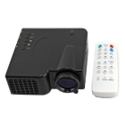 Mini AV LED Digital Projector Resolution RM/RMVB projection + IR Remote Control free shipping, wholesale,# 160042