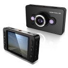 "HD 1080P car dvr camera 2.7"" LCD recorder Video Dashboard vehicle Camera Free Shipping,Wholesale #100145"