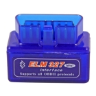 Mini ELM327 Bluetooth V1.5 OBD2 OBDII Auto Diagnostic Scanner Adapter Tool Free Shipping,Wholesale #180058