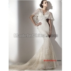 Free Shipping* Customize Luxury  Backless Fish tail Wedding dress,wedding gown Evening dress W101