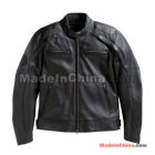 Free Shipping! 98099 Men's Reflective Skull Leather Jacket 98099-07VM