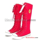 2011 new age season with quality goods with flat canvas of cylinder boots,  boots autumn boots female boots
