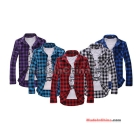 free shipping brand new men's tide of leisure long-sleeved shirt size M L XL XXL   sellers