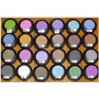 New Beauty 24 different Colors eyeshadows pigment 1.5g 50pcs/lot 24colors---19