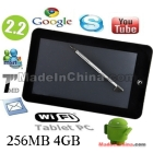 "USB 2.0 epad 8650 Retail 7"" Android 2.2 Tablet pc  Black 256 4GB Multi ,G Sensor Laptop Fast shipping"