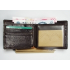 Free shipping-- The vogue is popular brand wallet purse name card clip come with box .3
