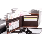 Free shipping-- The vogue is popular brand wallet purse name card clip come with box .5