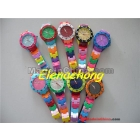 New Fashion  watch small style colorful Plastic watch in 10 colors 30pcs/lot+Free shipping