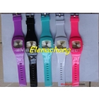 multicolour Plastic watch gorgeous watch in 10 colors 50pcs/lot+Free shipping