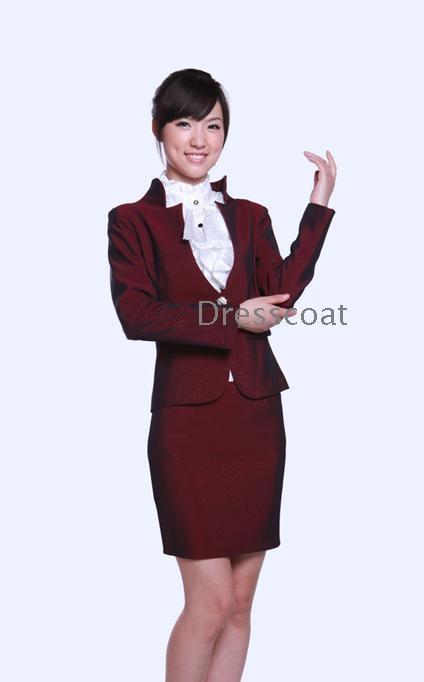 Hotel Receptionist Summer Wear Uniform Foreman Wholesale