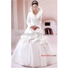 Free shipping Brand wedding dress vogue cotton winter marriage gauze new marriage gauze winter clothing