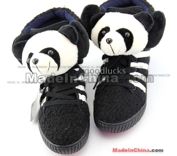 Buy Authentic Adidas Originals X Jeremy Scott JS Panda Shoes Shoes