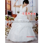 Free shipping The bride wedding dresses the new 2011 hang on my wedding dress together at a loss to han edition  dress