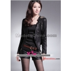 2011 new autumn outfit new women's clothing han edition cultivate one's morality small leather
