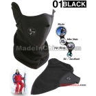 30pcs/Lot Black (Mix Color) Neoprene Snowboard Ski Half F ace Mask Neck Warmer               ff004