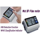 Wrist type digital BP monitor with IHB function hot selling
